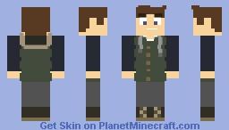 Vest Jacket Minecraft Skin