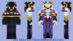 Overlord - Ainz Ooal Gown Minecraft Skin