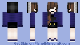 ~I dunno i guess i haven't uploaded in a while~ Minecraft Skin