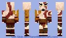 Kratos (God of War) Minecraft Skin
