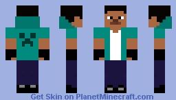 Steve Remade Minecraft Skin
