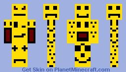 Skin of Faces Minecraft Skin