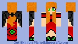 Evil Ellen Minecraft Skin