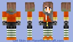 Sp00ky Pumpkin Minecraft Skin
