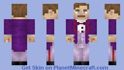 Gustave H - The Grand Budapest Hotel [1.8+] (detailed front) Minecraft Skin