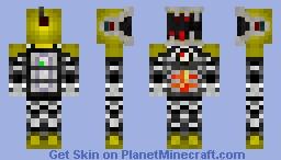 PAC-bot mK-1 Minecraft Skin