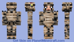 UEG Spearhead Minecraft Skin