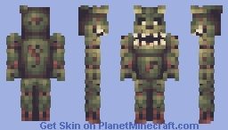 Springtrap: Jumpscare Included (Five Nights at Freddy's) Minecraft Skin