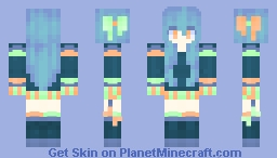 stripes Minecraft Skin