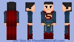 Superman (Dawn Of Justice) Minecraft Skin