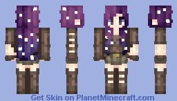 The Galaxy Minecraft Skin