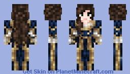 Noble Woman(V2) ~ Flying de Aryn Colours Minecraft Skin