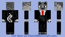 Wolf Man! Minecraft Skin