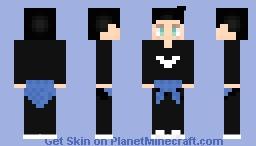Twaimz Inspired Skin Minecraft Skin
