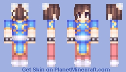 Street Fighter - Chun-Li Minecraft