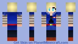 curlykara (android18) Minecraft Skin