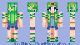 Jungle Jem Minecraft Skin