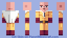 bald guy Minecraft Skin