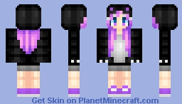 ~ Dark Hoodie ~with da dino face.... i take alot of my old made skins...