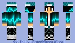 Blue Boy Minecraft