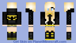 BatGirl (BADGIRL) Minecraft Skin