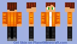 October Themed Boy Skin Minecraft Skin