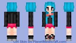 DJ or Bonnie Girl?... Minecraft Skin