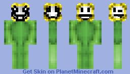 Flowey ( Undertale ) Minecraft Skin