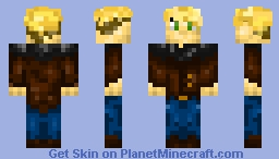 Male Adventurer Minecraft Skin