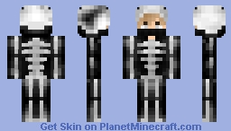 Guy Skeleton Onesie Pt.2 Minecraft Skin