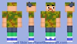Animal Crossing Boy (2) Minecraft Skin