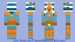 CW: Slave Ahsoka Tano (Slaves of the Republic) Minecraft Skin