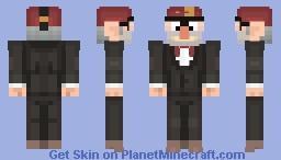 Grunkle Stanley Pines Minecraft Skin