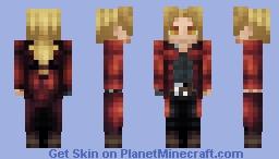 Edward Elric (Removable Coat!) - Fullmetal Alchemist: Brotherhood Minecraft