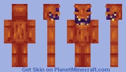 Jack the Crazed Minecraft Skin