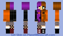 Half witch, half human - contest (includes a STORY) Minecraft Skin