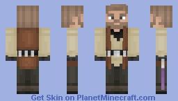 Jedi Master - Star Wars Minecraft Skin