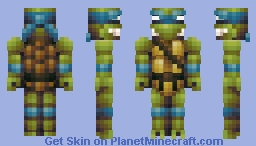TMNT - (All 4 Turtles - Leonardo, Donatello, Raphael, Michelangelo) Minecraft