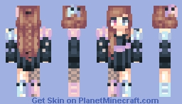 Pinky and Inky Minecraft Skin