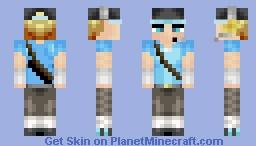 •]••´º´•» קɥȑקȽ£ «•´º´••[• TF2 Blu Scout Minecraft Skin