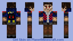 NitroScarman Minecraft Skin