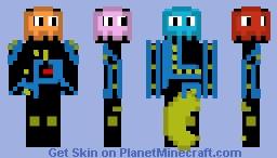 Pac Man Costume! -Contest Entry Minecraft Skin