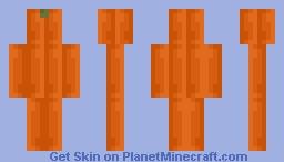 Pumpkin Minecraft Skin