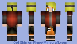 Sage Mode Naruto [FEMALE] Minecraft Skin