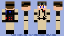 Ghostbuster (well Made & Nonspecific) Minecraft Skin