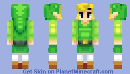Toon Link [Skin Battle] - Also Level 60! Minecraft