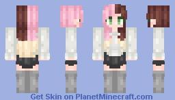 Vanille Minecraft Skin