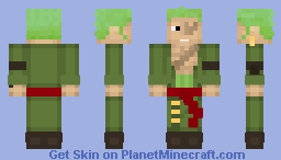 Roronoa Zoro - One Piece Minecraft Skin