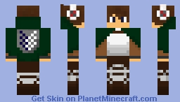 AOT dude Minecraft Skin