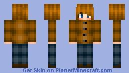 ♥cu†ιε♥ I'm back - Personal Skin Minecraft Skin